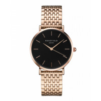 Rose gold ladies watch Mercer - rose gold mesh strap | ROSEFIELD Watches