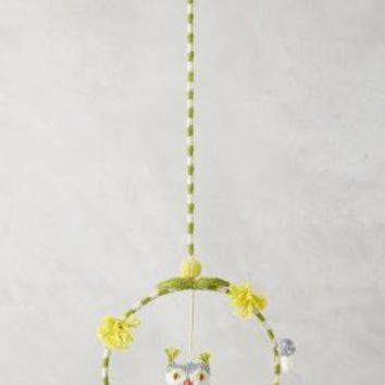 Blabla Owl Dreamcatcher Mobile in Grey Size: One Size Gifts