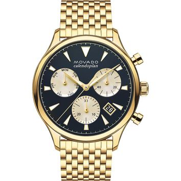Heritage Calendoplan Watch by Movado