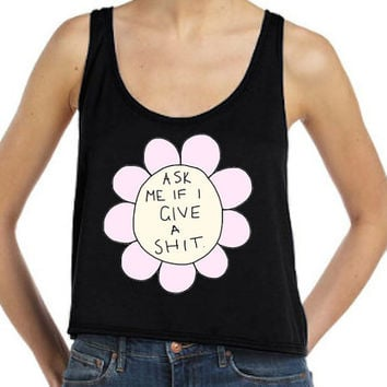 Rude Flower Flowy Tank