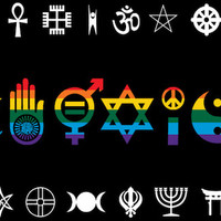 Rainbow Coexist - Flag