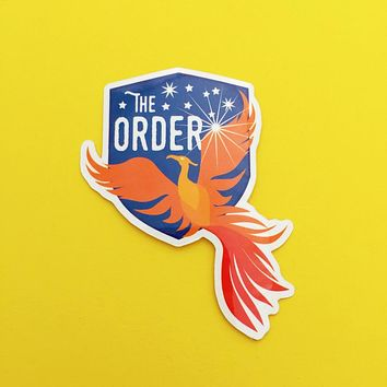 The Order Of The Phoenix - Harry Potter Vinyl Sticker