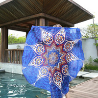 Printed Beach Towel Bohemian Mandala Wall Tapestry 11514