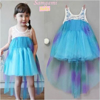 Children's Dresses Girls Frozen Dress Skirt Summer Princess Dress Kids Clothing New Arrival Princess Dresses Girls New Fashion Dresses.