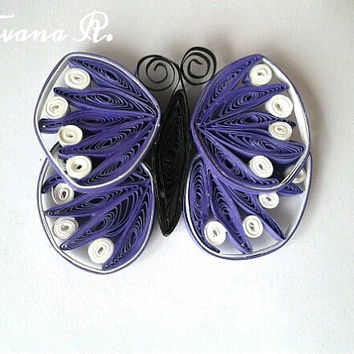 Refrigetaror magnets, Set of 3, Butterflies