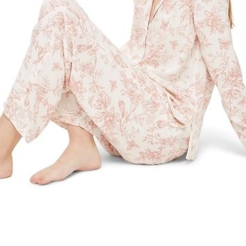 Topshop French Floral Pajamas | Nordstrom