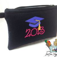 Class of 2013 Makeup Bag / Gadget Bag / Wet Bag / Cosmetic Bag