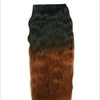 Unique's Human Hair Super Weave Wet & Wavy 18 Inch