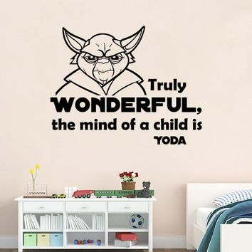 Starwars Living Room Decoration Bedroom Wall Sticker [6043641857]