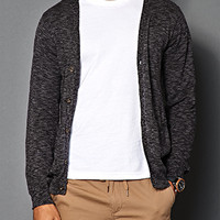 Heathered V-Neck Cardigan