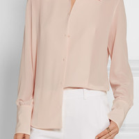 The Row - Suz silk crepe de chine blouse