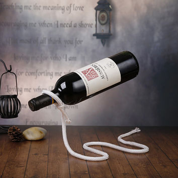 Magical Wine Rack - Snake Dangling Rope Wine Holder