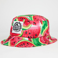 Milkcrate Athletics Watermelon Mens Bucket Hat Multi One Size For Men 26055195701