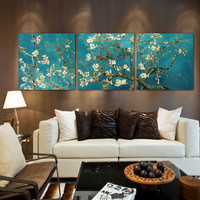 Branches with Almond Blossm by Vincent van Gogh Modern picture cotton canvas prints painting for wall