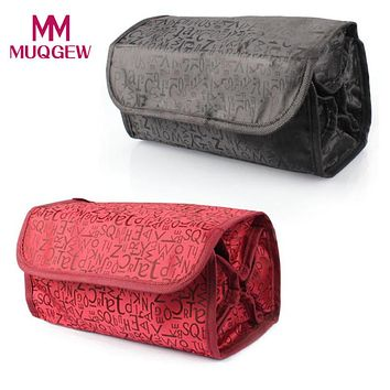 Zippered Cosmetic Bag For Travel