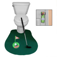 Evelots® Novelty Golf Potty Putter for Bathroom - Gag Gift for Golf Enthusiasts