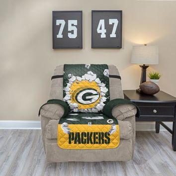 Green Bay Packers Recliner Explosion Furniture Protector