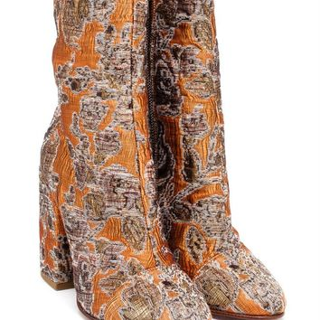 DRIES VAN NOTEN | Jacquard Boot | brownsfashion.com | The Finest Edit of Luxury Fashion | Clothes, Shoes, Bags and Accessories for Men & Women
