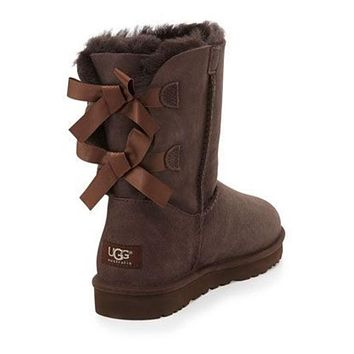 UGG Bow Leather Boots