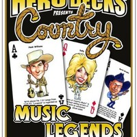 Hero Deck, COUNTRY MUSIC Legends, Playing Cards