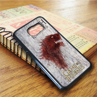 Game Of Thrones The North Remembers Samsung Galaxy S6 Edge Case
