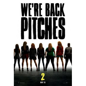 Pitch Perfect 2 27x40 Movie Poster (2015)