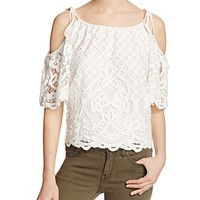 ParkerTessy Cold-Shoulder Top