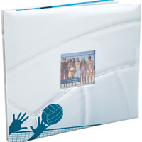 "MBI Sport & Hobby Post Bound Album W/Window 12""""X12""""-Volleyball"