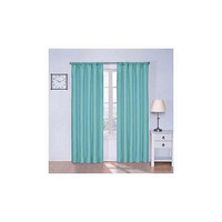 """Eclipse Kids Kendall Blackout Window Curtain Panel 42"""" X 63"""" Turquoise"""