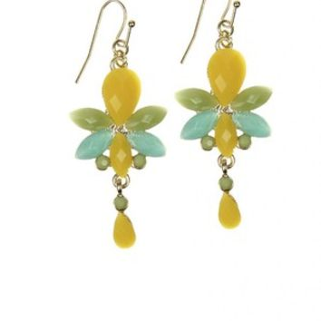 Off to the Tropics Earrings
