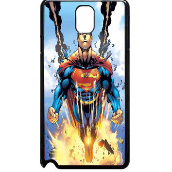 comic superhero superman For Samsung Galaxy Note 3 Case ***
