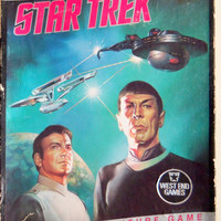 Vintage Star Trek The Adventure Board Game 1985