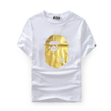 PEAP Bape Cotton Summer Print Short Sleeve T-shirts [415650611236]