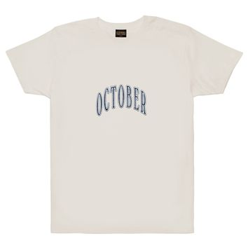 OCTOBER ARCH SHORTSLEEVE T-SHIRT | October's Very Own