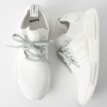 Adidas NMD R1 3M Reflective shoelace Fashion Trending Running Sports Shoes c0a7b0e3c