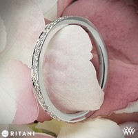 Platinum Ritani Endless Love Full Eternity Diamond Wedding Ring