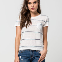 BILLABONG Sail With Me Womens Pocket Tee | Knit Tops & Tees