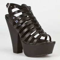 Steve Madden Glendael Womens Heels Black  In Sizes