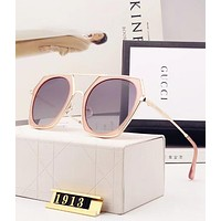 Gucci Popular Women Sunglasses Summer Sun Shades Eyeglasses Glasses Sunglasses I12654-1