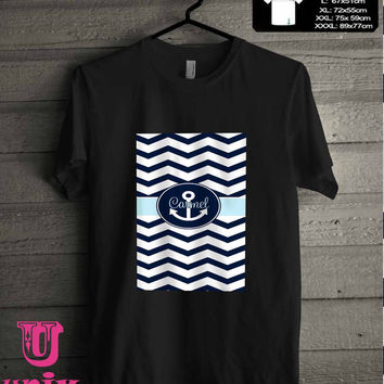 anchor chevron.. T-Shirt for man shirt, woman shirt **
