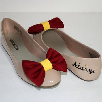 Harry Potter flats with bow ties
