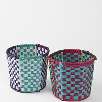 Magical Thinking Checkered Storage Bin - Urban Outfitters