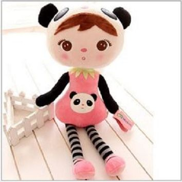 20cm Metoo Doll Soft Cotton Metoo Lovely Bear Stuffed Plush Baby Toys For Birthday Gifts S8800