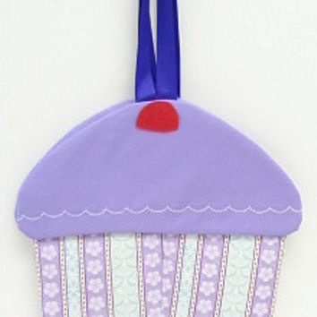 cupcake purse cloth goodie bag fabric gift bag cc505