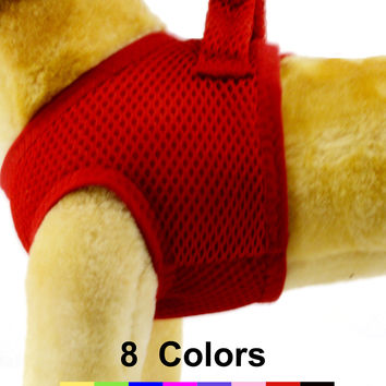 Air Mesh Step-In Dog Harness, in 8 Colors