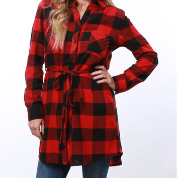 Favorite Plaid Tunic Dress