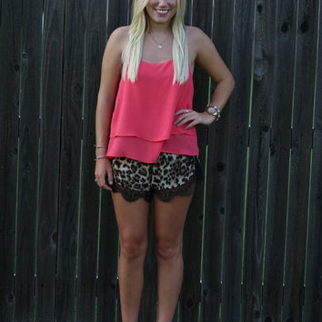 Crazy Day Leopard Shorts