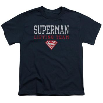 Superman - Lifting Team Short Sleeve Youth 18/1