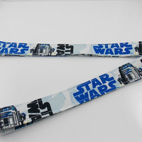 R2D2 Lanyard Star Wars Keychain Droid Key Ring R2D2 Keychain R2D2 Car Key Holder Star Wars Necklace Robot Lanyard Teacher Lanyard