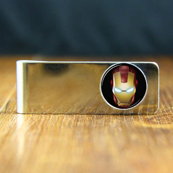 Money  Clips- Iron  Man  Money  clips,Vintage handmade Money clips, Wedding Groom gift,Father  ,men gift